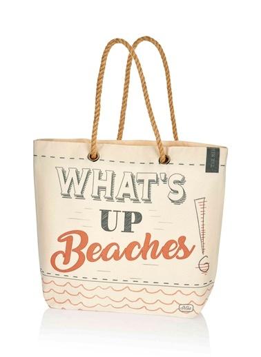 Plaj çantası 42x38 Cm-The Mia